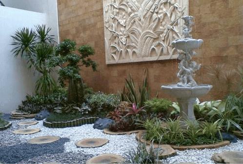 Membuat Kolam Untuk Desain Taman Minimalis di Rumah