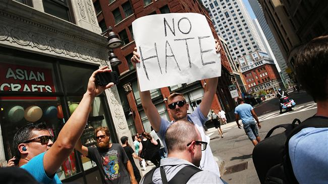 Poll shows strong disapproval of US President Donald Trump's Charlottesville response