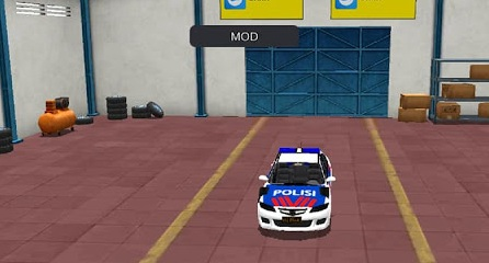 100 Mod Bussid Mobil Polisi HD