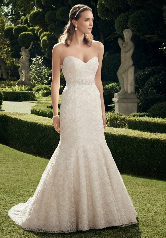 Casablanca bridal fall 2014 belle the magazine for How much are casablanca wedding dresses