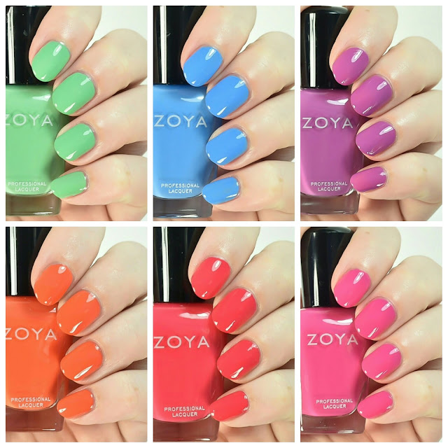 zoya sunset swatch