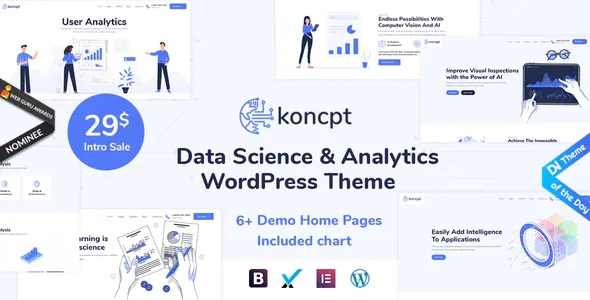 Best Data Science and Analytics WordPress Theme