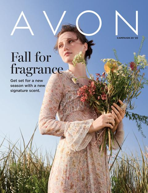 AVON BROCHURE FLYER CAMPAIGN 20 2020 Fall For France