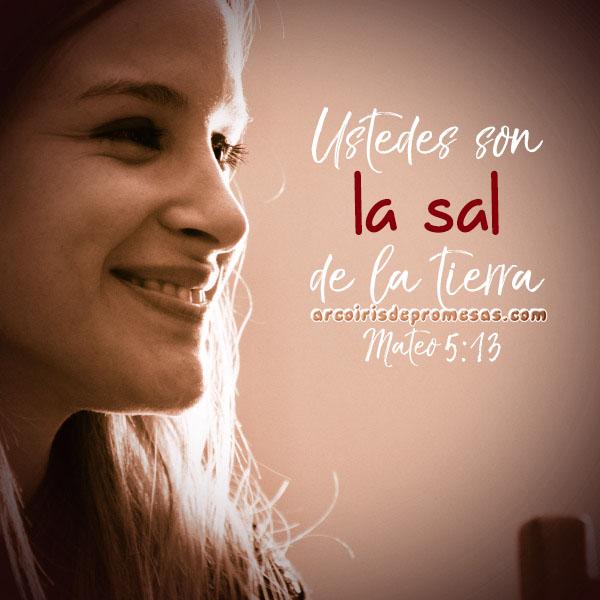la sal de la tierra reflexiones cristianas con imágenes arcoiris de promesas