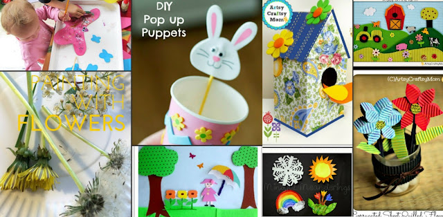 Spring Arts And Crafts For Kids Activity
