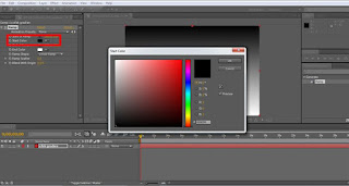 tutorial adobe after effect cs4 mengatur warna pertama gradien ramp