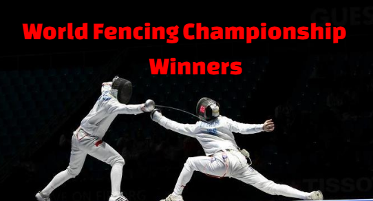 men's, individual, world fencing, championships, champions, winners,  foil, epee, sabre, list.
