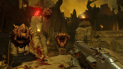 DOOM Closed Alpha gameplay pc