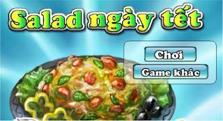 Chơi game salad ngày tết ngon bổ