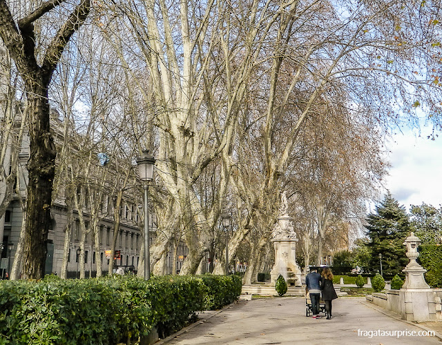 Passeio do Prado, Madri