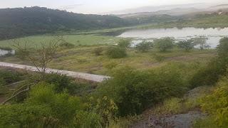 Em Picuí, açude 'Caraibeiras' continua acumulando água e vai abastecer Nova Palmeira