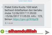 pesan text