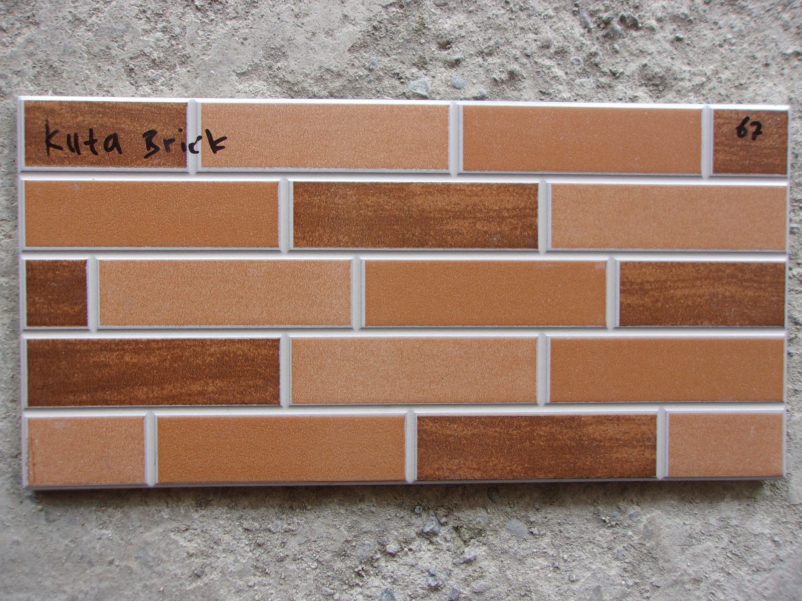 Kuta Brick keramik dinding 20x40 Jaya Keramik Sentra