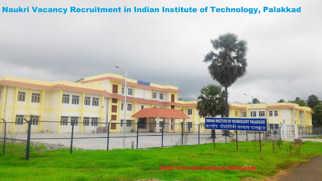 Naukri Vacancy Recruitment in IIT Palakkad