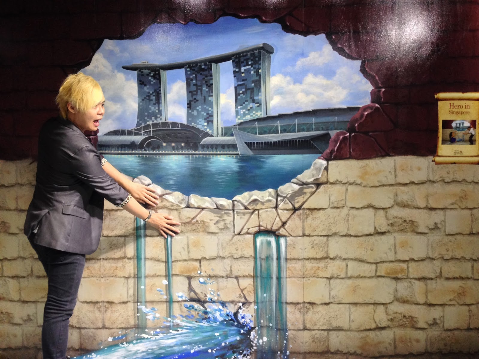 Stopping Marina Bay Sands from leaking