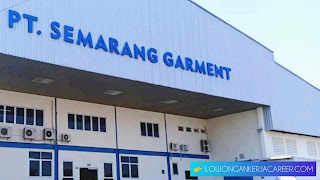 Lowongan Kerja Terbaru PT Semarang Garment Tahun 2020 Sitrun Ungaran