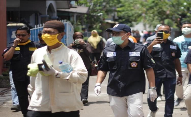 Pilar Saga Pimpin Langsung Operasi Pencegahan Covid-19 di Zona Merah
