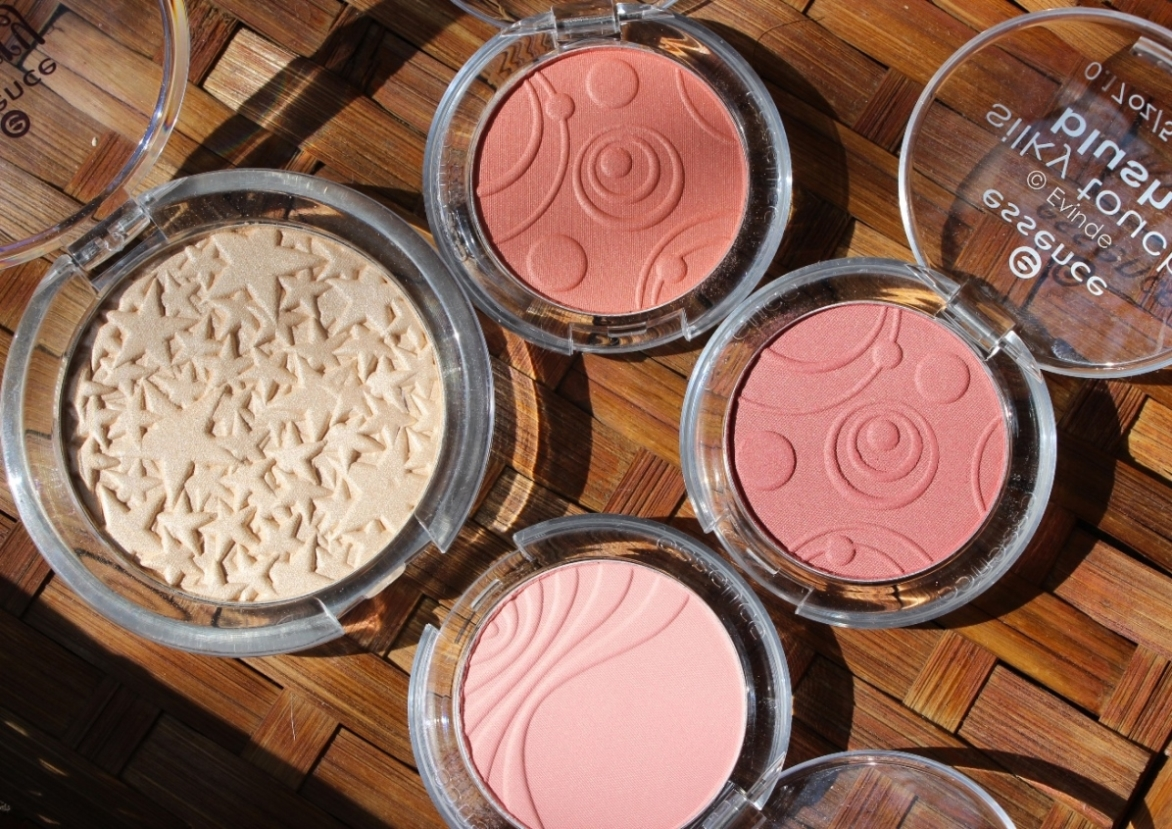 essence highlighter and blushes