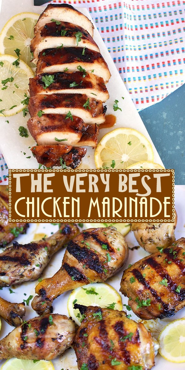THE VERY BEST CHICKEN MARINADE RECIPE #chickenrecipes