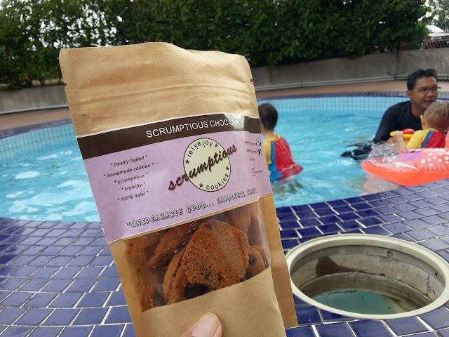 Anak-anakku Hantu Air, cookies tersedap, chocolate chips, IelyEjoy Scrumptious Cookies