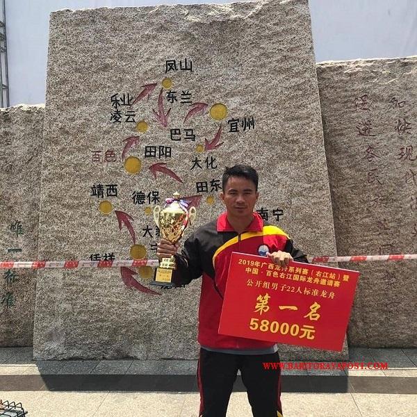 Hebat..! Personel Polda Kalteng Berhasil Sabet Medali Emas di China
