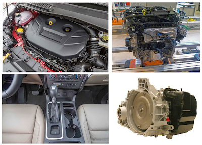 New Ford Escape Engines and Transmission
