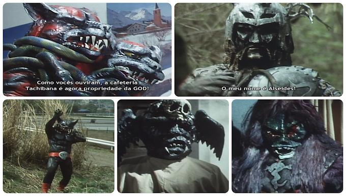 Kamen Rider X Episódios 16 ao 20