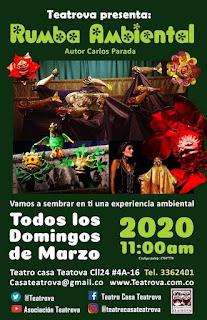 POS Rumba ambiental   Casa Teatrova