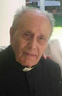 Descanse en Paz D. Cesáreo Bermudo, Sacerdote compositor de la Marcha Sagrario de Dios