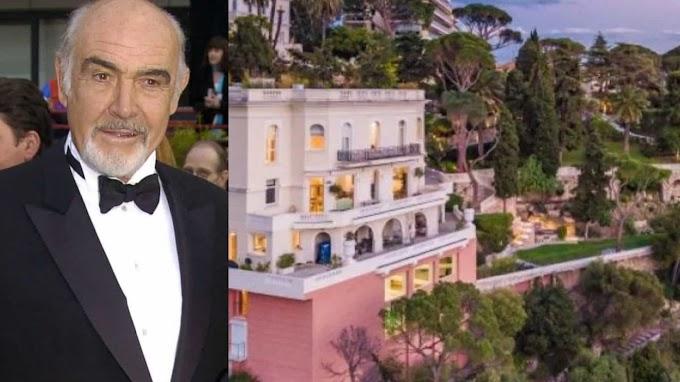 Internacional: Mansão de Sean Connery na Riviera Francesa é posta à venda