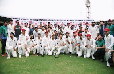India Afghanistan share test series trophy Top 10 Spirit of Cricket moments of the century