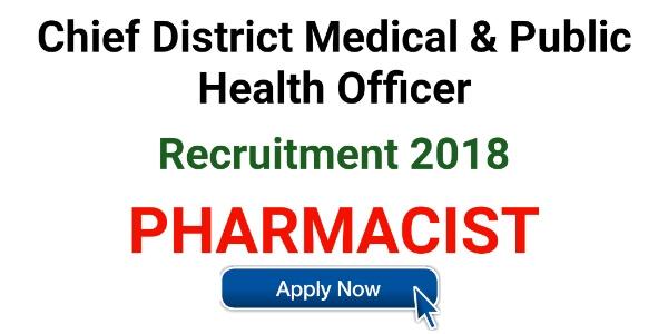 Pharmacist Job at chief district medical and public health officer,cdmpho,malkangiri,odisha,pharmacist