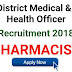 Openings for Pharmacist at CDM&PHO (Chief District Medical & Public Health Officer)