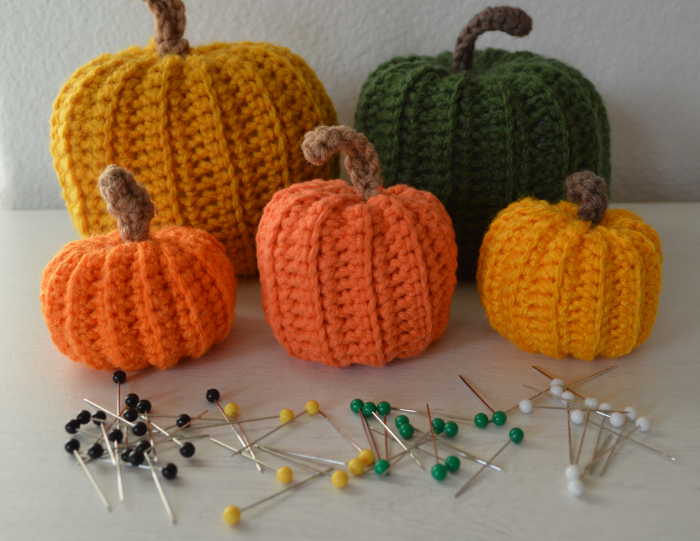 #alfileres #crochet #auyamas #calabazas #pumpkins #otoño #fall #autumn #LabrandounHOGAR