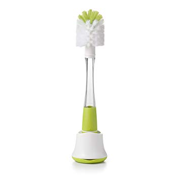 Soap Dispensing Bottle Brush