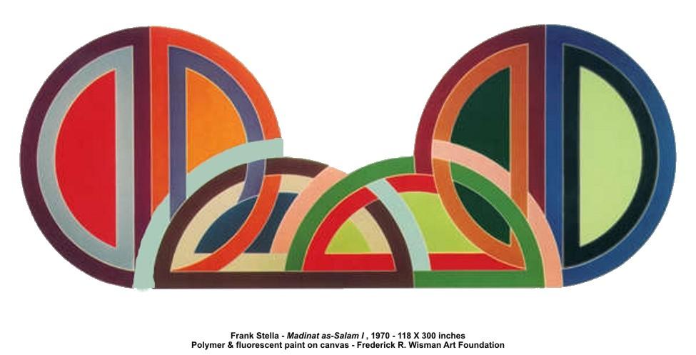 Artplastoc 6 la question de l 39 espace en peinture for Frank stella peinture