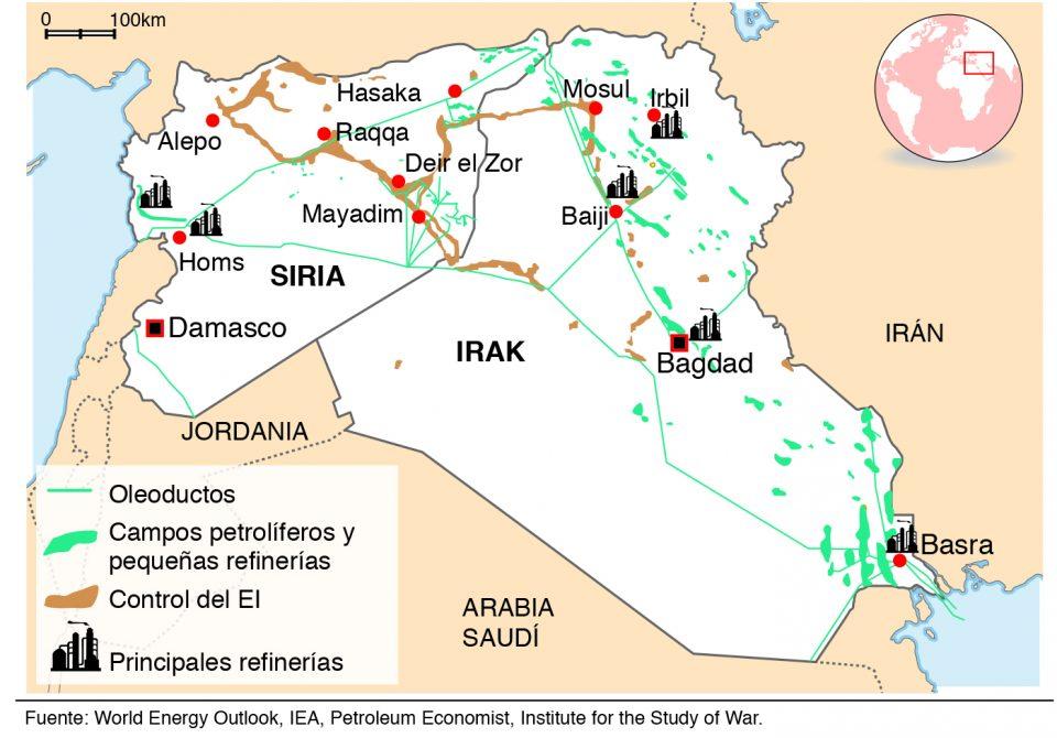 Resultado de imagen para siria y los hidrocarburos