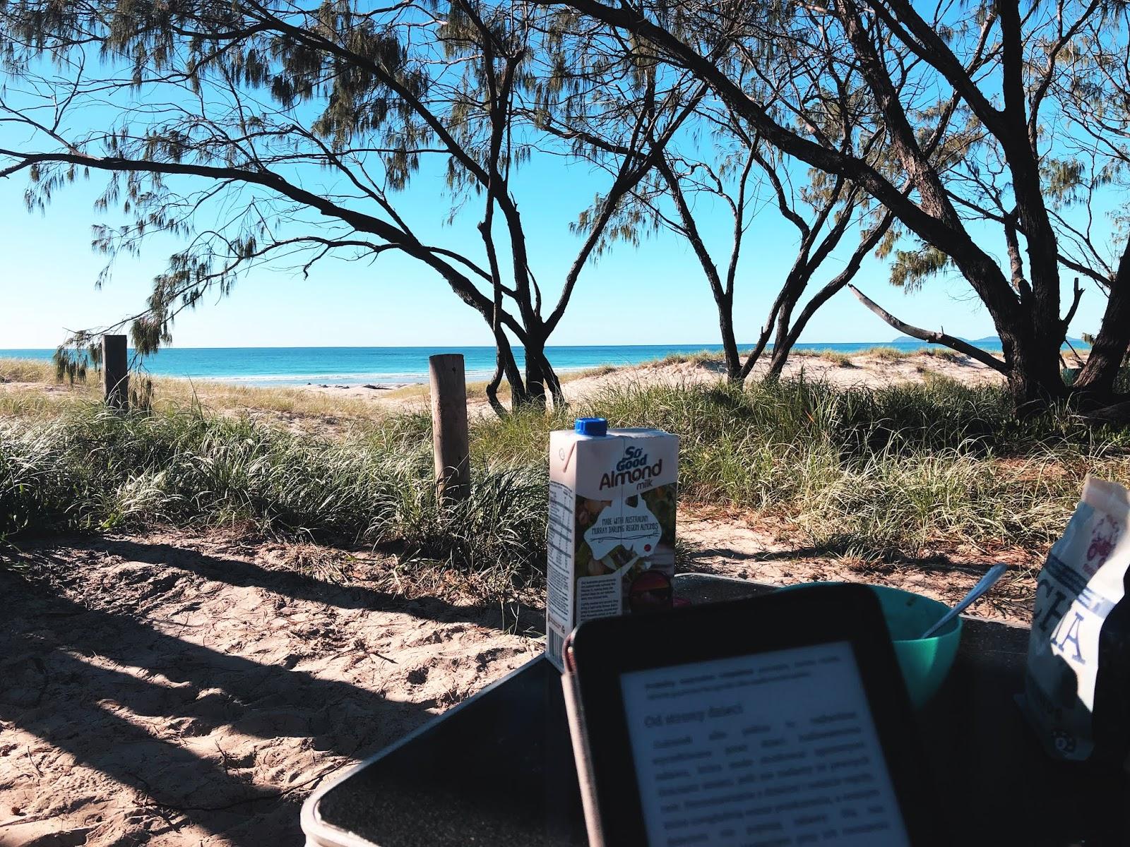 Plaża Rainbow Beach w Australii
