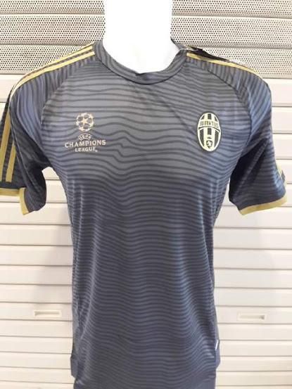 7b0cb5ee736 Jual Jersey Juventus Hitam Ucl 2015 2016 Rumah Jersey Bola Kaos