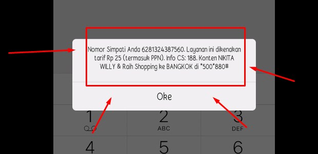 Mengecek Nomor Telkomsel Di Hp Sendiri Melalui Kode USSD 2019 2