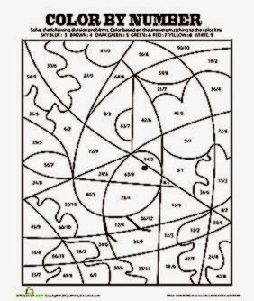Division Coloring Worksheets Coloring Pages