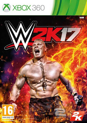 WWE 2K17 PC Cover