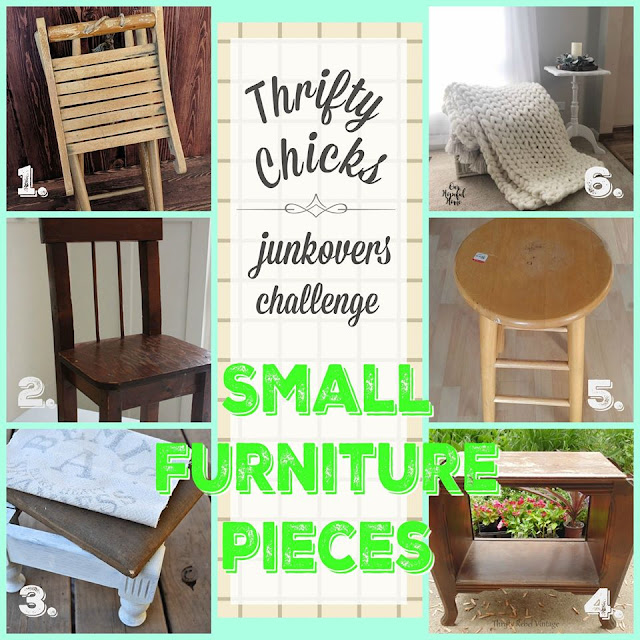 Thrifty Chicks Small Furniture Makeover Challenge