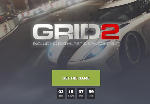 Cara Mendapatkan Game GRID 2 Gratis dari Humble Bundle