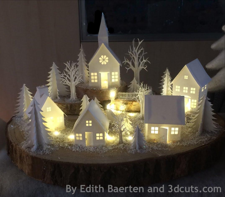 ashbee design tea light village. Black Bedroom Furniture Sets. Home Design Ideas