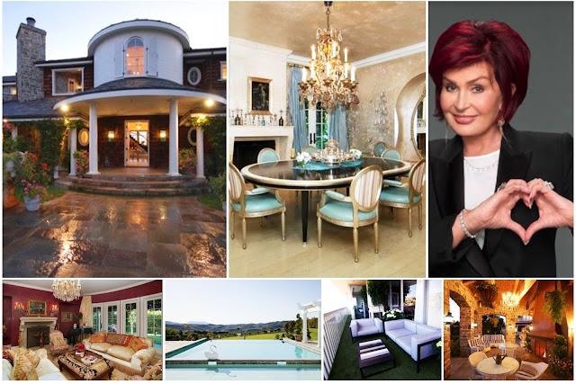 Inside Sharon Osbourne's House The Richest British Woman