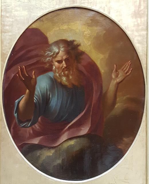 XVIIème musée des beaux arts de Rouen, Dieu le père par Sacquespée