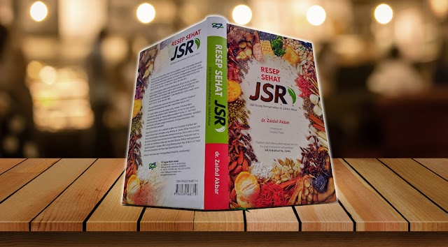 Buku Resep Sehat JSR Karya dr. Zaidul Akbar