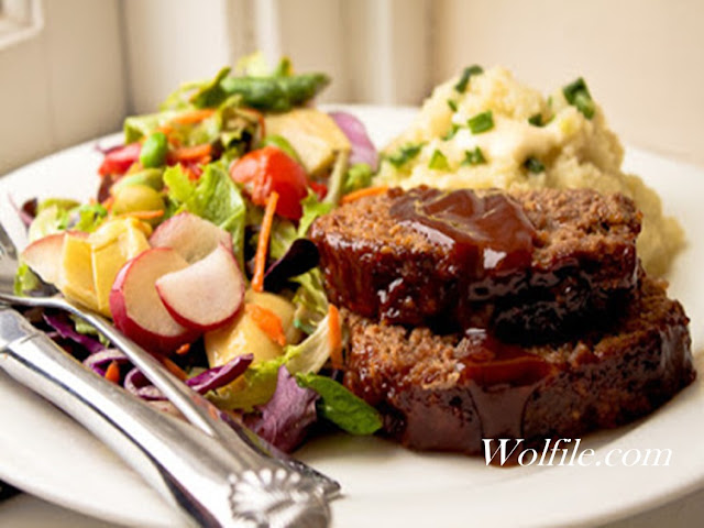 The Best Honey Barbeque Meatloaf Recipe