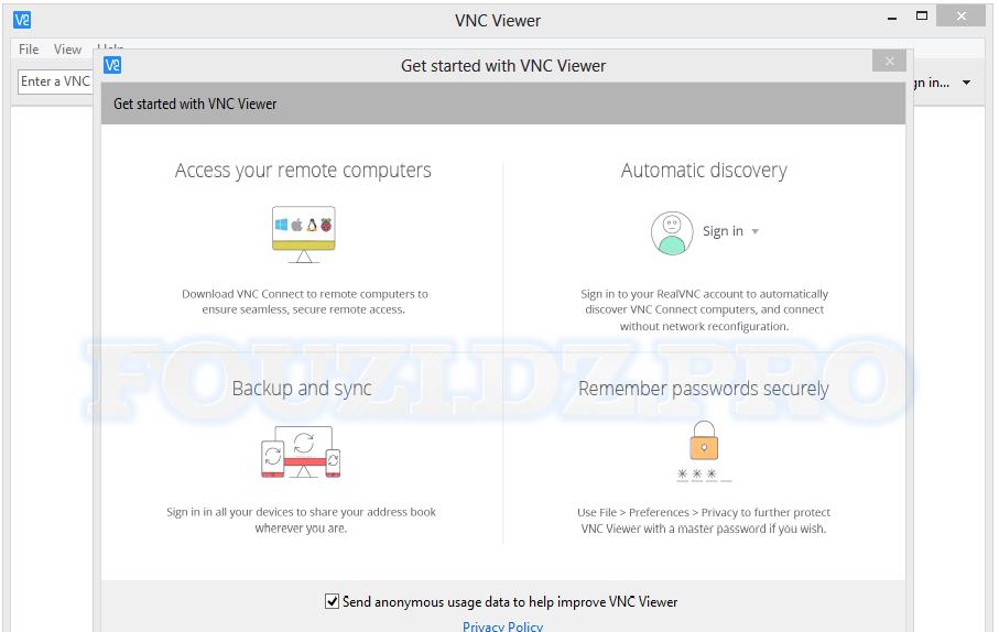 تحميل أفضل برنامج للتحكم في أي كمبيوتر عن بعد VNC Connect Enterprise